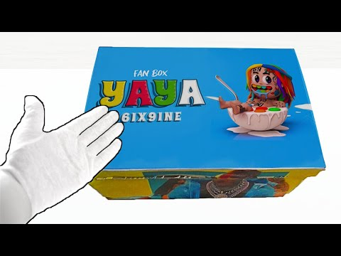 Unboxing 6IX9INE- YAYA / GOOBA (Official Music Video) ASMR Relaxing end