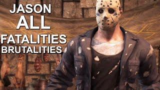 Mortal Kombat X Jason Voorhees Fatality Fatalities Brutalities