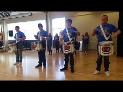 Glasgow orange defenders at the sommes cultural day 08/10/16