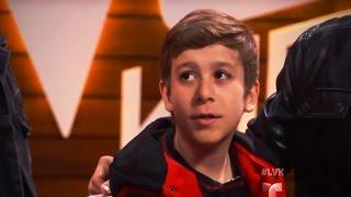 Daniel se hizo más fuerte gracias a la música | Audiciones | La Voz Kids 2016