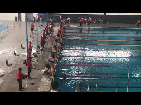 Nada Di Kejuaraan Renang Jakarta Open JOSC 100 Meter Gaya Bebas Putri KU II