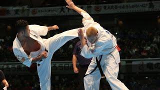 第11回全世界空手道選手権大会 4回戦5 ヴァルデマラス・グダウスカス v...