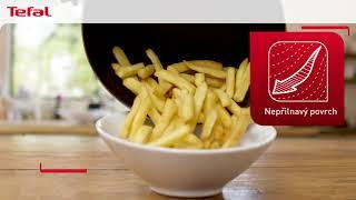 Tefal Easy Fry EY201815   Zdravé řešení křupavých smažených pokrmů pro každý den   CZ