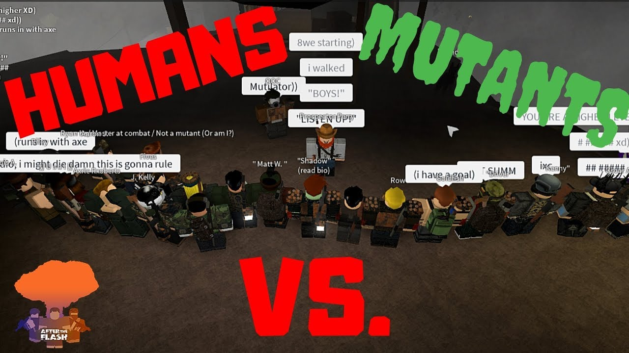 Roblox After The Flash Outfits Roblox After The Flash Mirage Humans Vs Mutants Linebattle Event Youtube