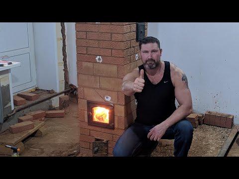 Печка для дачи на дровах своими руками видео