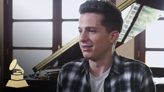 Charlie Puth Talks About Working With Selena Gomez | GRAMMYs