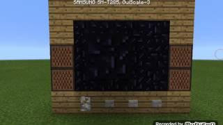 Cara membuat tv di minecraft pe