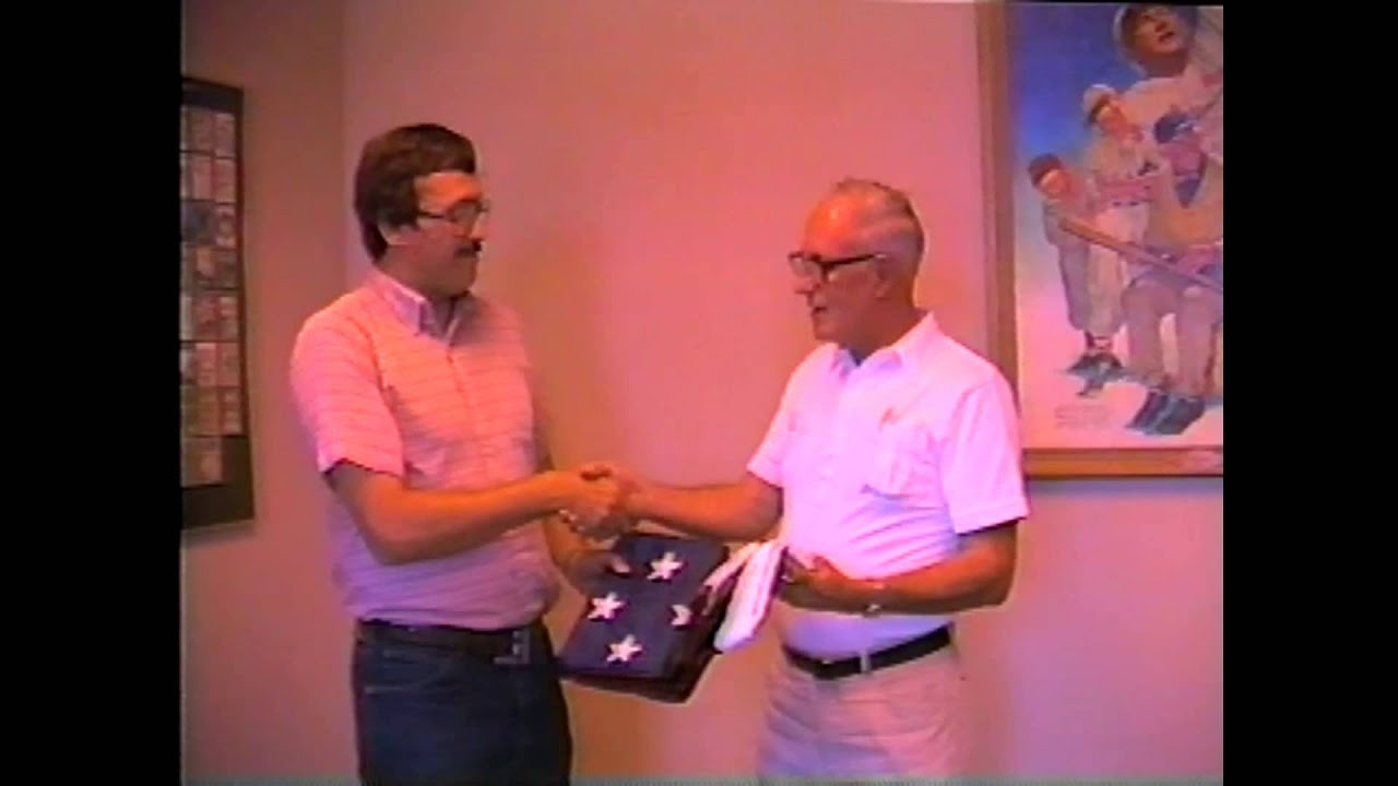 American Flag for National Baseball Hall of Fame 1984