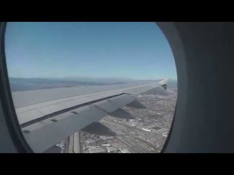 Airbus A380 Landing In Los Angeles