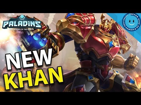 NEW KHAN BUFFS ARE STRONG! MAX HEAL KHAN BUILD! (Paladins Gameplay)