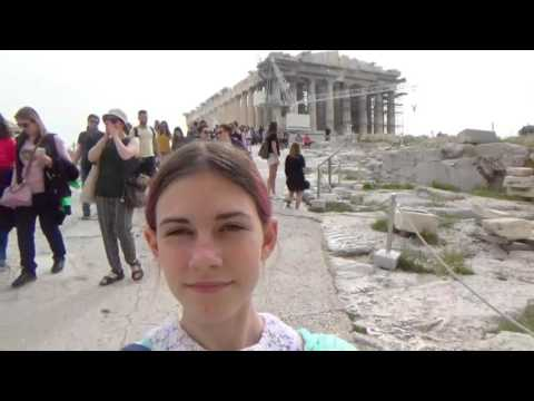 Visiting the Acropolis in Athens, Greece!