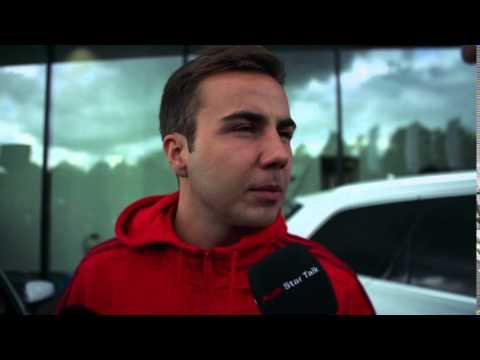 Mario Götze über den Audi Star Talk mit Jérôme Boateng
