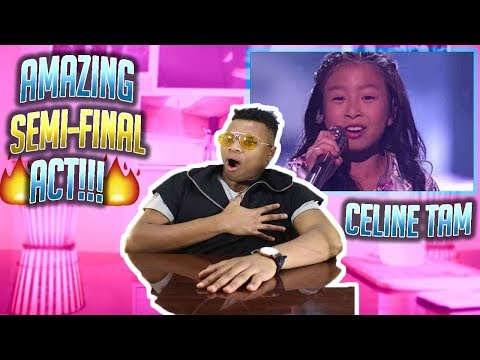 "Celine Tam: 9-Year-Old Stuns The Audience With ""How Far I'll Go"" - AGT 2017 (MUST SEE REACTION!)"