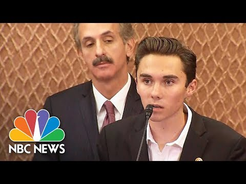 David Hogg: We Are Not Trying To Take Your Guns, We Are Trying To Live | NBC News