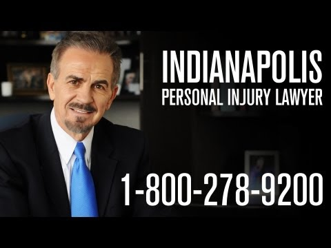 Indianapolis Personal Injury Lawyer - 800-278-9200 - SWAT Lawyer Randy Sevenish