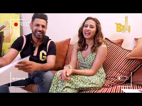 E33 - Gippy Grewal & Sargun Mehta Full Interview || Len's Talk || Balle Balle TV - New Punjabi Show