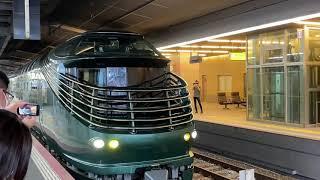 トワイライトエクスプレス瑞風JR神戸線大阪駅発車シーン緊急事態宣言明けの山陽上りコース2日目 2021年6月29日