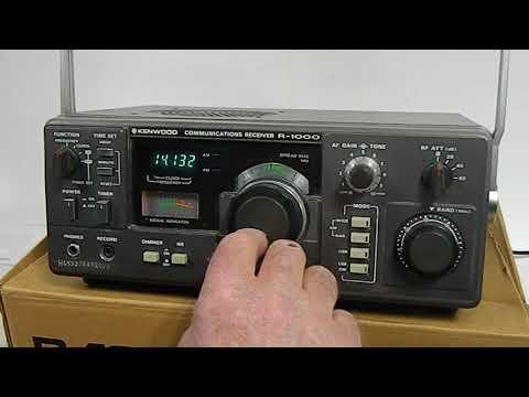 KENWOOD R-1000  Shortwave/Communications Receiver