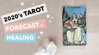 2020 Year Tarot Forecast Reading: Challenging but POWERFUL and exciting year! ✨