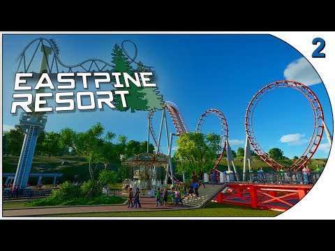 Planet Coaster - Eastpine Resort: Episode 2 - Bankruptcy Averted