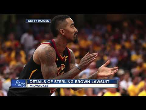 Lawsuit claims Milwaukee Police officer mocked Sterling Brown after arrest