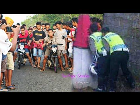 Lucunya BALAP LIARAN Bubar Kocar Kacir DIKIRA ada Polisi