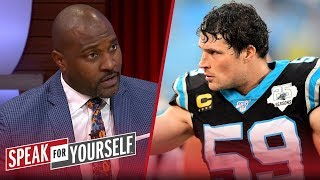 Wiley on Luke Kuechly's retirement at 28: 'Respect to you, Kuechly' | NFL | SPEAK FOR YOURSELF