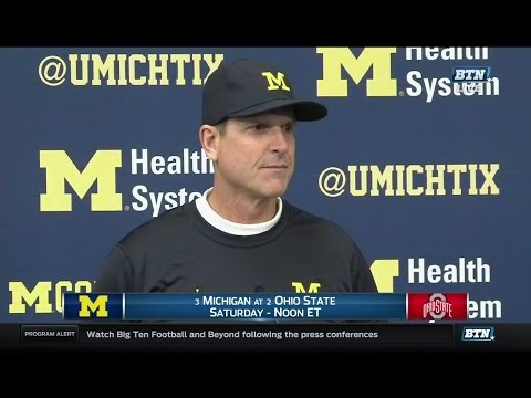 Jim Harbaugh Ohio State Week Press Conference