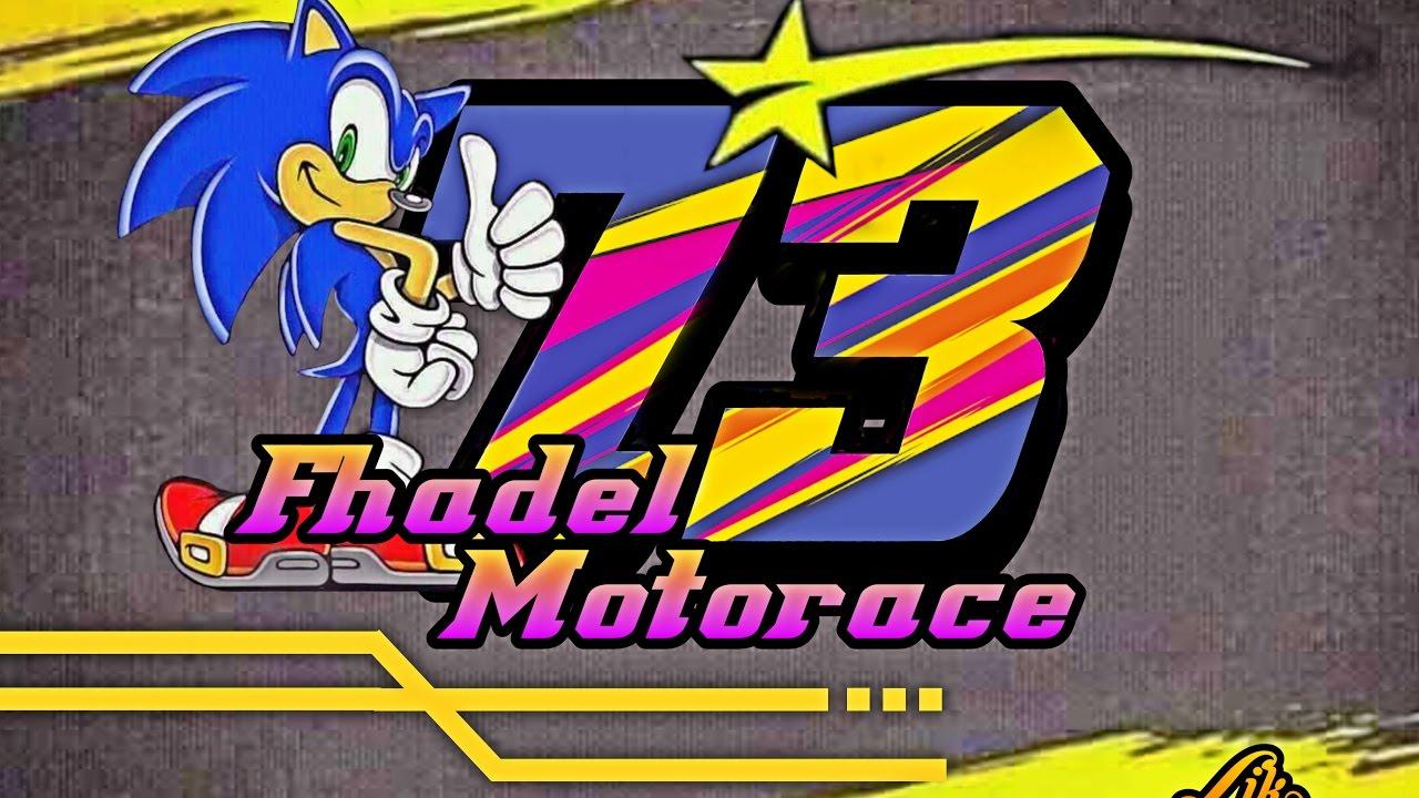 Tutuorial membuat design sticker nomor start race cukup diandroid 1