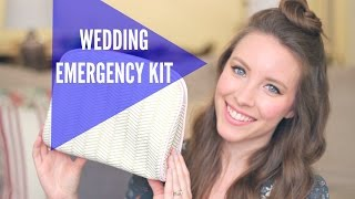 DIY WEDDING EMERGENCY KIT & WEDDING WEEKEND ESSENTIALS || KATIE BOOKSER