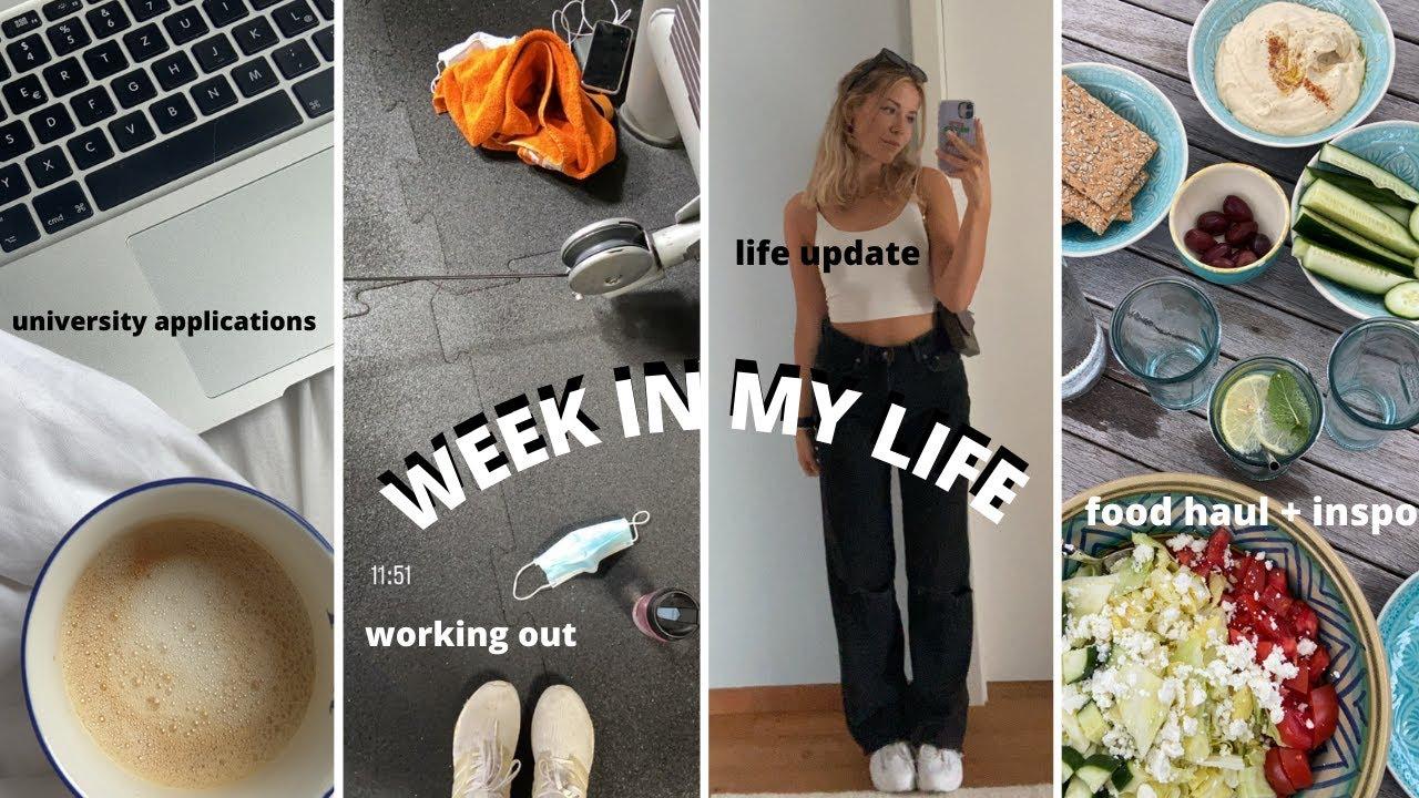 uni applications, working out, real talk, summer plans, food haul ,... II Marieke Emilia