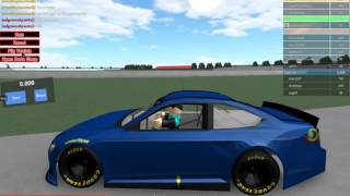 Roblox gameplay of nascar 16
