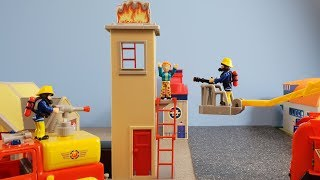 Fireman Sam Toys Episode 25 Fire Training Tower Hollywood Jupiter Firefighter Sam Toy 2019 Venus
