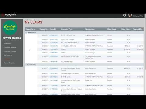 How to Claim Music Licenses in Royalty Claim Platform