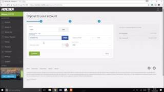 Neteller खाते में पैसे जमा - Depositing money to Neteller account
