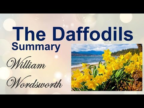 The daffodils by william wordsworth Summary