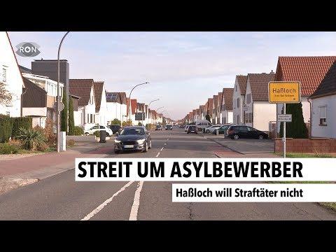 Streit um Asylbewerber  RON TV