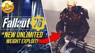 Fallout 76- UNLIMITED Carry Weight!! (AFTER PATCH) // Exploits and Glitches