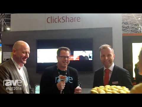 ISE 2016: Gary Kayye Talks to Gerben van den Berg and Wim Buyens of Barco About ClickShare