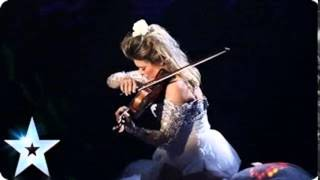 Violinist Lettice Rowbotham gives a hypnotic recital - Britain\'s Got Talent 2014 (ONLY SOUND)