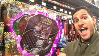 I FOUND TREASURE POKEMON CARDS AT WALMART!
