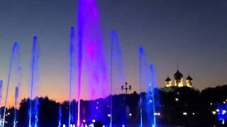 Поющие фонтаны, Ярославль