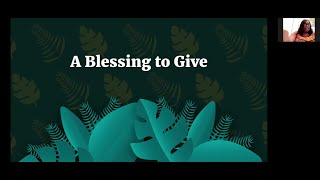 PWAM Virtual Sunday Sermon 2021_0502 RESCUE MEETING - A Blessing to Give