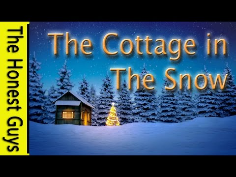 GUIDED SLEEP MEDITATION - The Cottage in the Snow (4K)