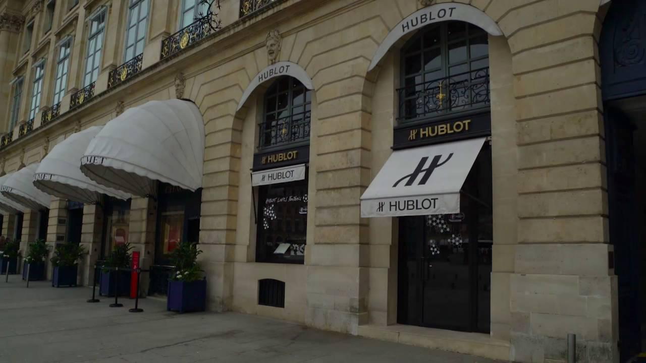 Hublot Loves Football in Paris