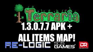 Terraria 1.3.0.7.7 APK + ALL ITEMS
