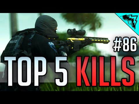 Battlefield Hardline Top Sniper Plays (EPIC Knockout Kills & Best Sniping Collaterals) #86