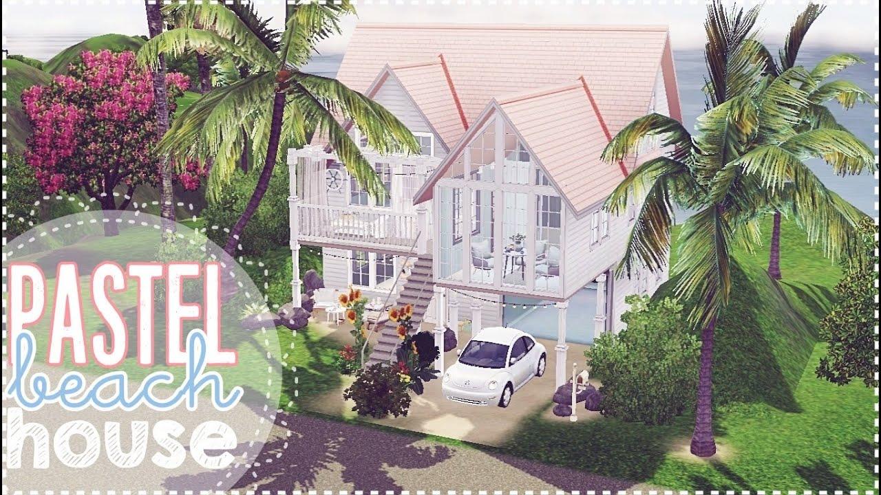 the sims 3 pastel beach house youtube