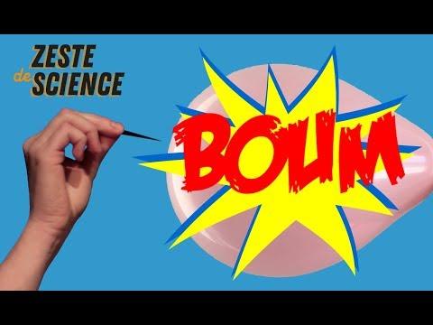 La science des ballons