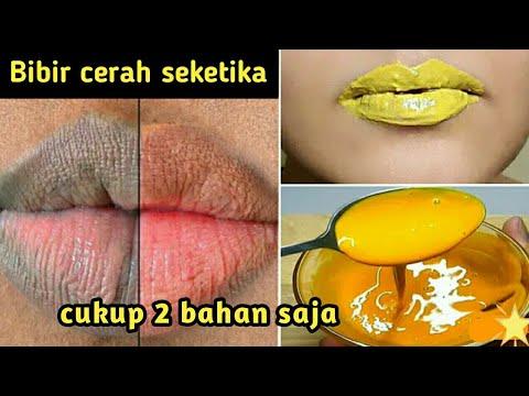 Tips Gampang Merahkan Bibir Secara Alami Youtube